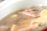 具だくさんチキンスープの作り方2