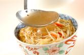 白ネギとザーサイの中華丼の作り方3