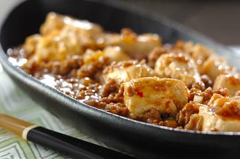 ジンジャーコーディアル麻婆豆腐