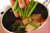 高野豆腐の含め煮の作り方2