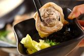 鶏鍋~酒粕鍋~酒粕湯葉ご飯の作り方2