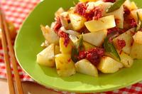 ジャガイモとコンビーフの炒め物