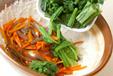 菊菜の白和えの作り方3