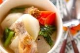 手羽元とカブのスープ煮