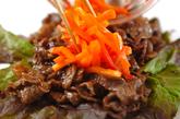 牛肉ショウガサンドの作り方3