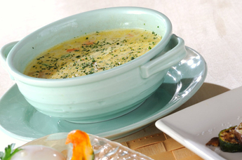 ミックスベジタブルのミルクスープ