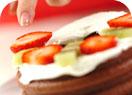 森のイチゴケーキの作り方4