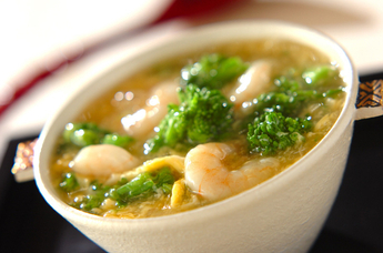 お花畑のスープ