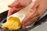 アジの干物でオムライスの作り方4