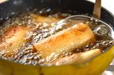 鶏ささみのパリパリ春巻きの作り方4