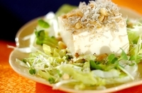 カリカリジャコ豆腐