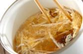 モヤシのふんわり卵スープの作り方2