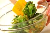 ブロッコリーのゴマ酢和えの作り方1