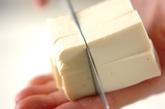 もずくと豆腐のお吸い物の下準備2