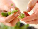 スモークサーモンのサラダの作り方2
