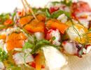 スモークサーモンのサラダの作り方4