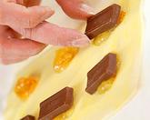 チョコレートの小さなパイ マーマレード風味の作り方2