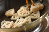 炒めレンコンの南蛮漬けの作り方1