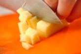 ジャガイモのキムチ和えの作り方1