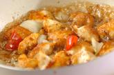チキンソテーのハニーソースがけの作り方3