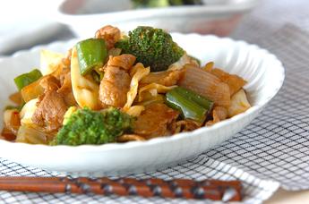 豚肉とキャベツの炒め物