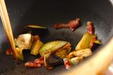 ナスのケチャップ炒めの作り方2