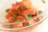トマトの冷製パスタの作り方2