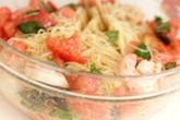 トマトの冷製パスタの作り方4