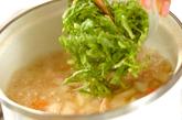 玉ネギのミルクスープの作り方2