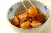 里芋と豚の煮物の作り方2