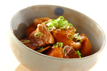 里芋と豚の煮物
