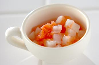 カブのトマト煮