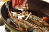 アジの梅煮の作り方2