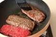 牛ひき肉ステーキの作り方3