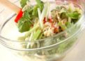 芹菜春巻き(チンツァイ チュンヂュアン)の作り方3