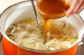 キノコのスープの作り方2
