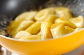 バナナの三温糖ソテーの作り方1