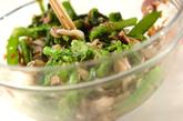 野菜たっぷりおひたしサラダの作り方2