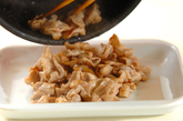 豚肉のウスターソース炒めの作り方1