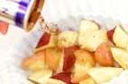 リンゴとお芋のはちみつの作り方3