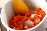 トマトと魚介のスープの作り方2