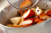 さつま揚げと根菜の煮物の作り方2