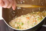 卵の混ぜ混ぜオムライスの作り方4