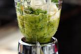 小松菜×みかんドリンクの作り方1