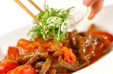 カルビ肉のトマト甘酢炒めの作り方3