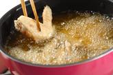 揚げ手羽先の甘しょうゆがらめの作り方2