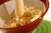 キュウリの豆腐和えの作り方2