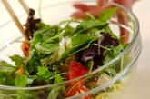白菜とグレープフルーツのサラダの作り方1