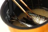 サンマの炊き込みご飯の作り方1