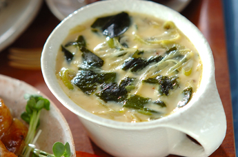 海藻茶碗蒸し